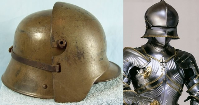 German Ww1 Helmet Types